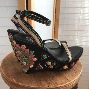 Boho beyond belief Sam Edelman sandals